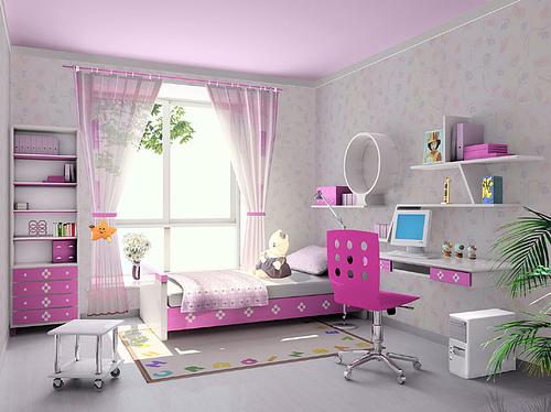 seputar bunda desain kamar tidur anak perempuan