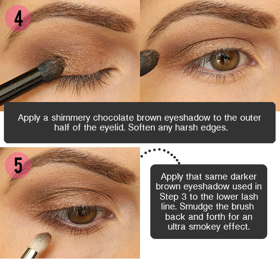 Smokey Brown Eyeshadow