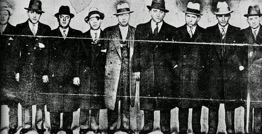Famous Mafia Pictures, Iconic Mafia Pictures, Mafia, Mobsters, Murder Inc, Cosa Nostra,