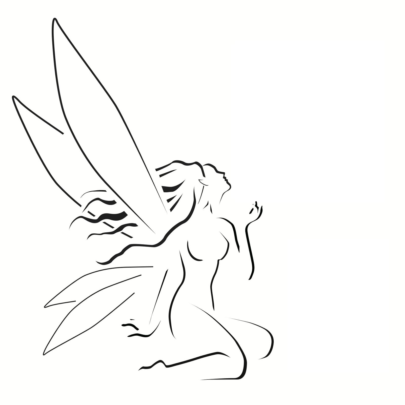 Fairy drawings in pencil pencil sketch drawing