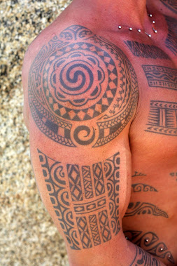 polynesian arm design