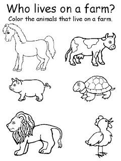 Estas fichas de inglés de animales son muy variadas y lúdicas