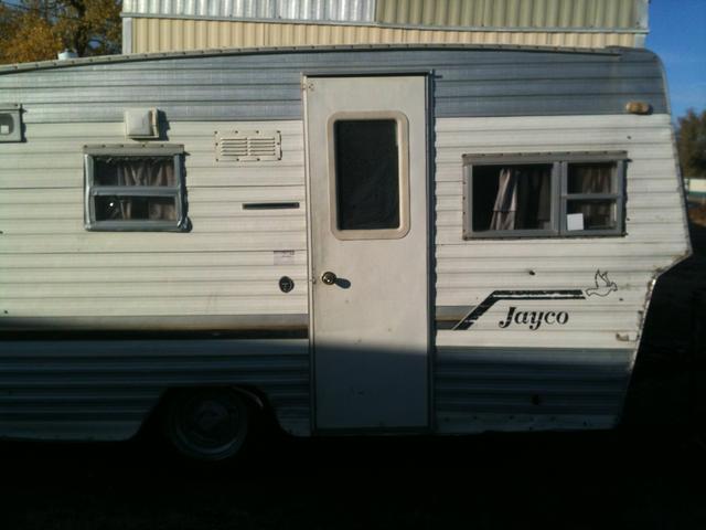 1972 Jayco Camper Makeover