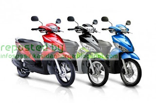 Harga Yamaha Mio J YMJET-FI Motor Terbaru 2012