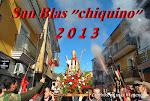 "SAN BLAS ""CHIQUINO"" 2013"
