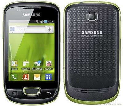 Harga - Spesifikasi Samsung Galaxy Mini Telkomsel