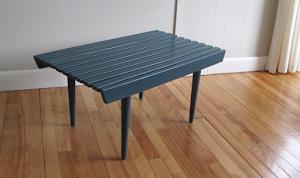 """30"""" MCM Slat Bench - $150"""