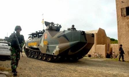 RIMPAC 2014 : Prajurit Korps Marinir TNI AL Serbu Hawaii