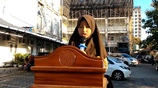 Video Nadia Adella Chayara Siswi Kelas IV Ar Rumi SD Islam Az Zahra Bandar Lampung