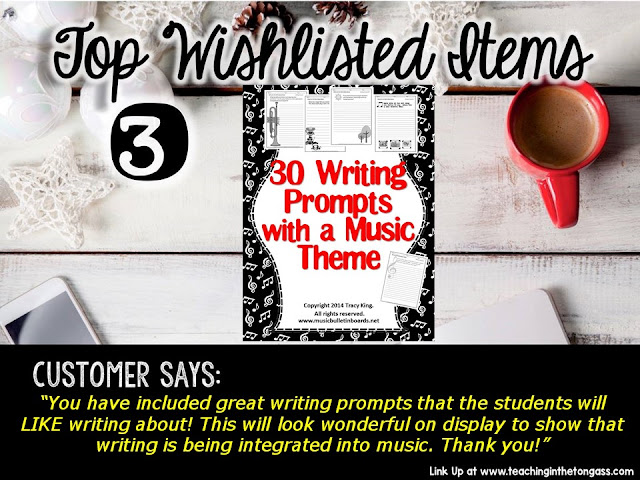 Writing Prompts with a Music Theme