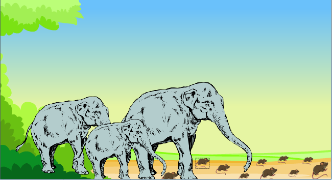 Kuttees.in: The Mice and The Elephants - Panchatantra Story ...