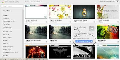 Cara Merubah Themes Pada Google Chrome