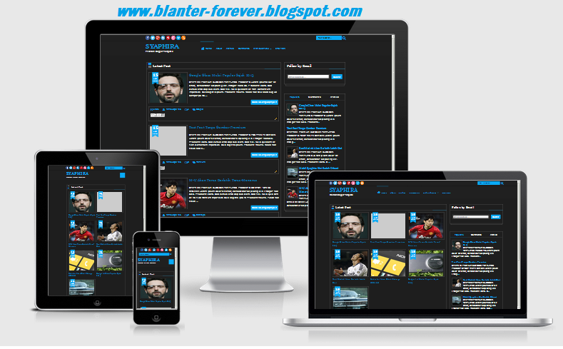 Syaphira Blogger Template