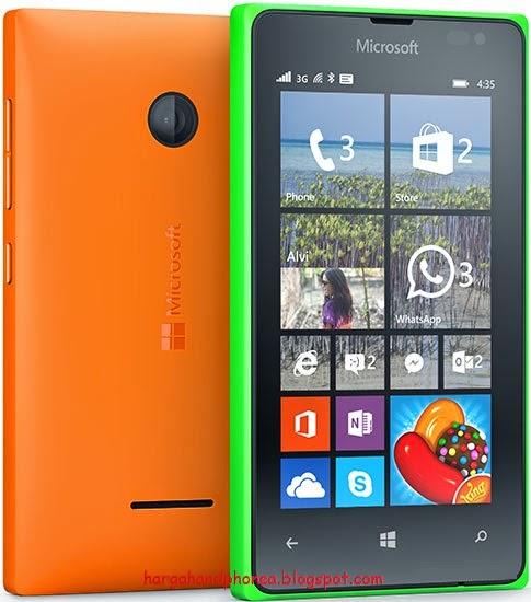 Harga Microsoft Lumia 435 & Spesifikasi Lengkap