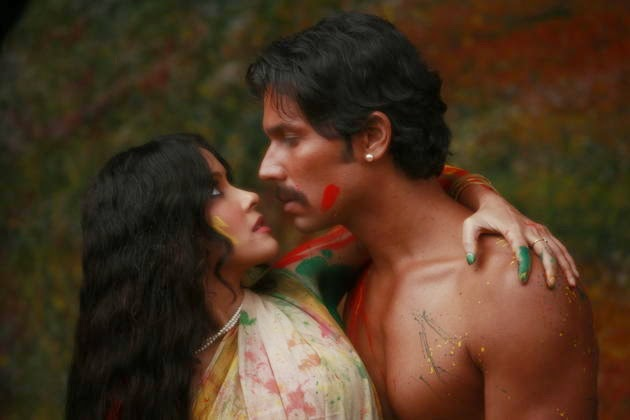 randeep hunda and nandana sen hot kiss scene pics