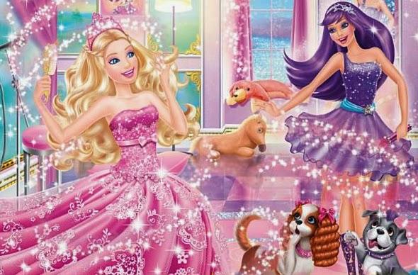 Amazoncom Barbie Fashion Fairytale Palace Toys amp Games