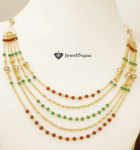 necklace gold kolkata weighted weight in with price light designs jewellery