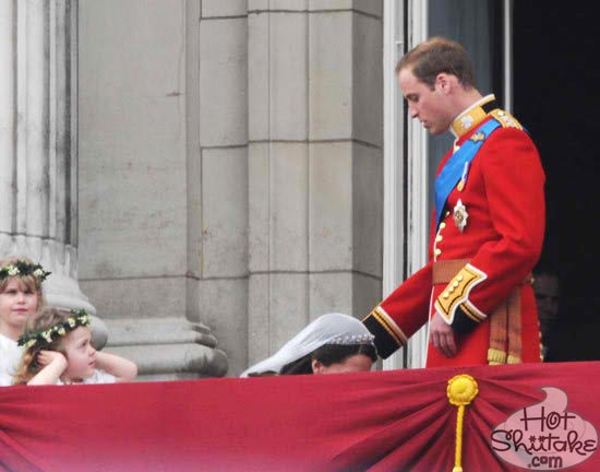 Kate Middleton Kneeling