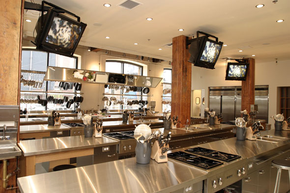 Teaching Kitchen Design 50 prince arthur commons: top 10: culinary schools and classes