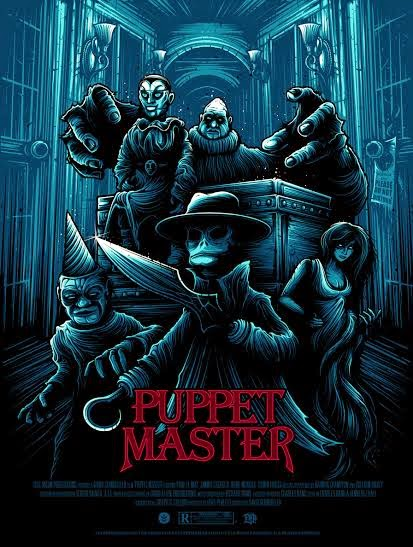 Puppet Master Screen Print by Dan Mumford