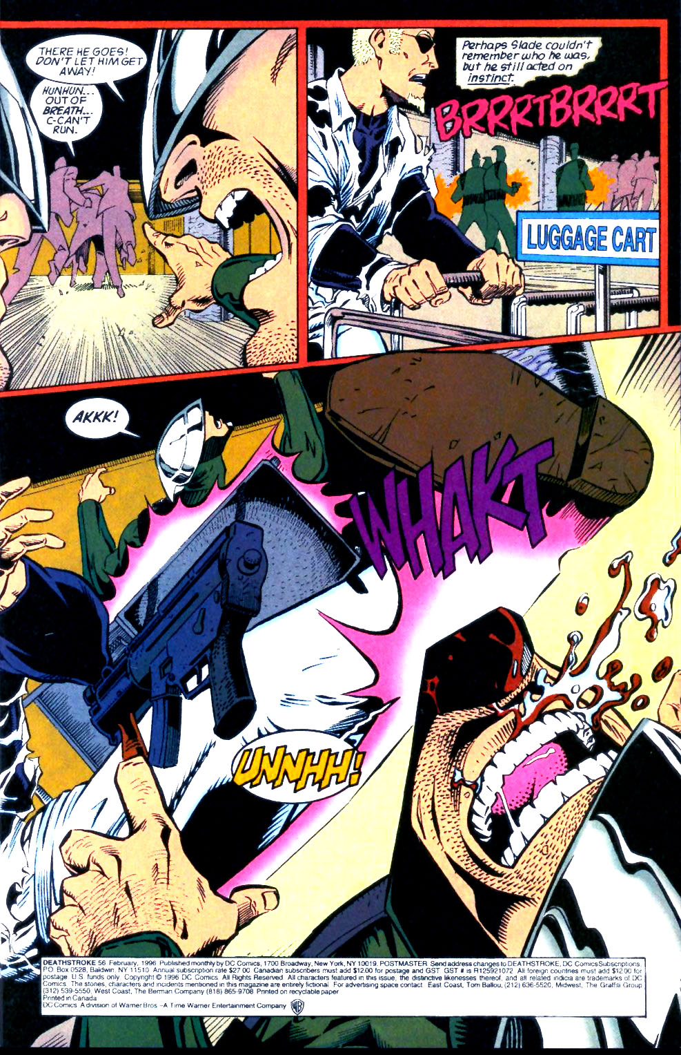 Deathstroke (1991) Issue #56 #61 - English 4