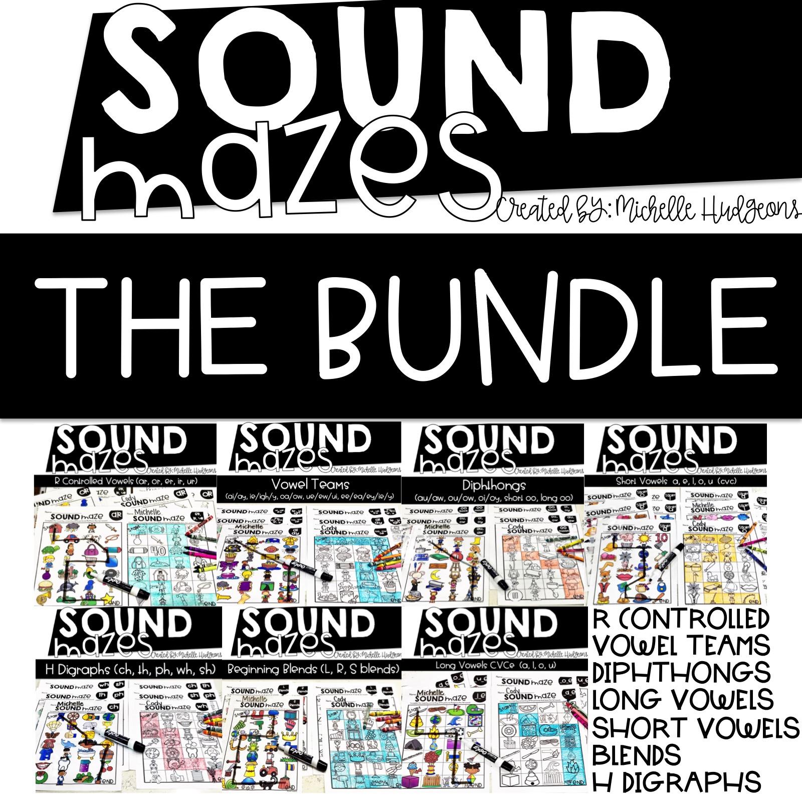 Sound Mazes BUNDLE