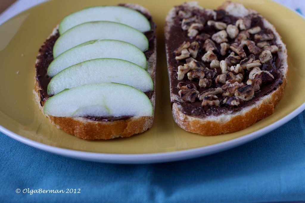 ... : Guest Post on Bella Nutella: Nutella Panini with Apple & Walnuts