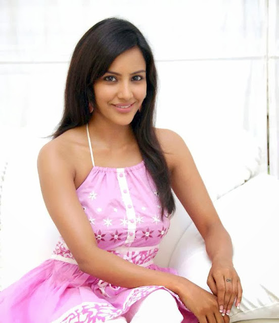 Priya Anand in Pink Dress