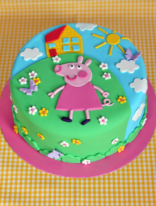 How To Make A D Peppa Pig Birthday Cake