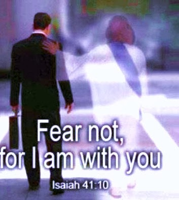 He will walk with you