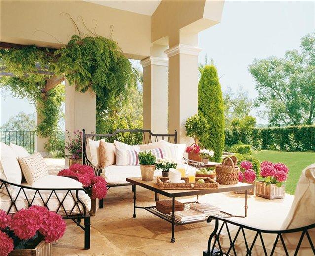Decor me ideas para decorar con estilo andaluz - Patios con estilo ...