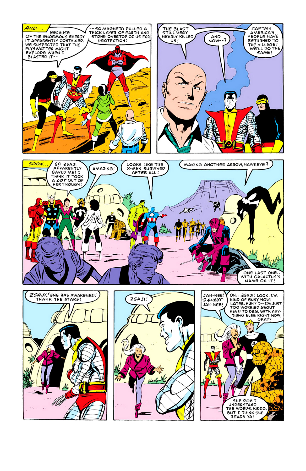 Captain America (1968) Issue #292j #217 - English 17