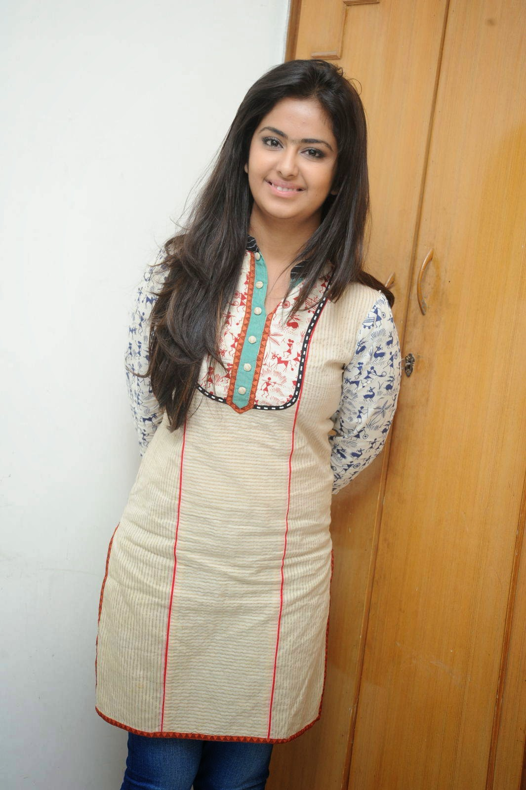 Actress Avika Gor Latest Cute Hot Exclusive Beautiful White Top Dress Spicy Photoshoot Gallery