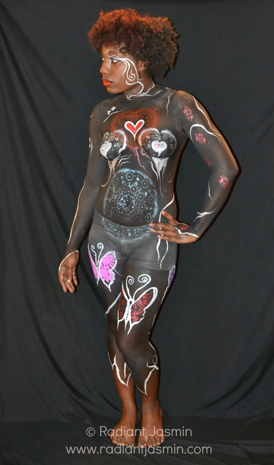 Mardi Gras Body Painting Pictures