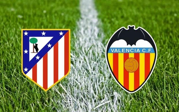 Prediksi Liga Spanyol : Atletico Madrid vs Valencia 9 Maret 2015
