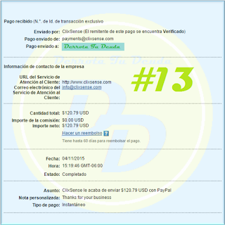 http://derrota-tu-deuda.blogspot.mx/2015/11/cambio-en-fecha-de-pago-clixsense.html