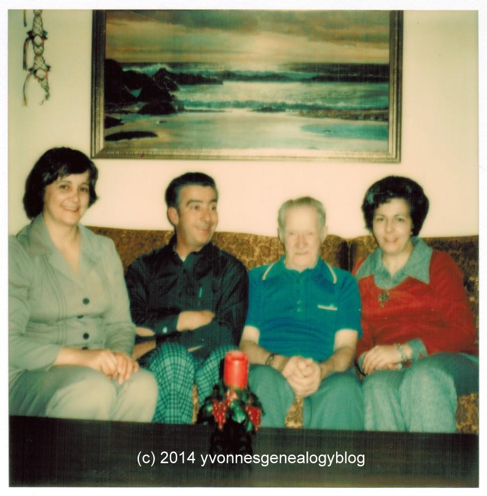 Fred Belair Maurice Belair Joan Belair and Darlene Belair