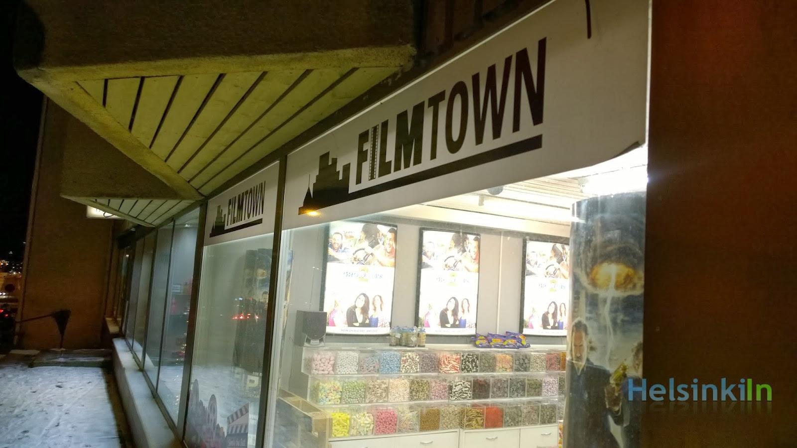 Filmtown in Helsinki