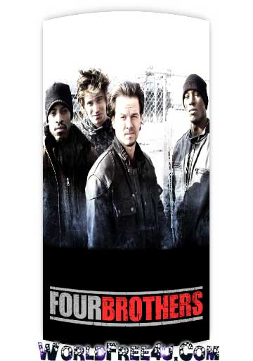 Poster Of Four Brothers (2005) Full Movie Hindi Dubbed Free Download Watch Online At worldfree4u.com