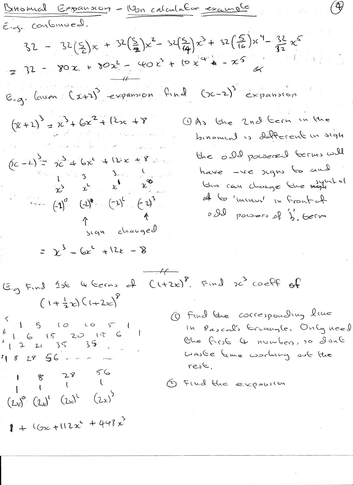 binomial expansion for negative fractional powers pdf