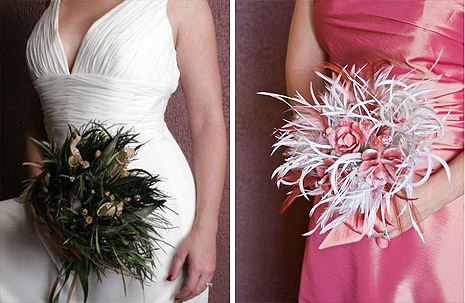 Platinum Touch Events Dare To Be Different Unique Wedding Bouquets