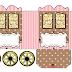 Pink and Brown: Princess Carriage Shaped Free Printable Boxes.