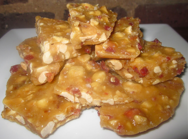 Haute + Heirloom: Bacon-Peanut Brittle with a Kick