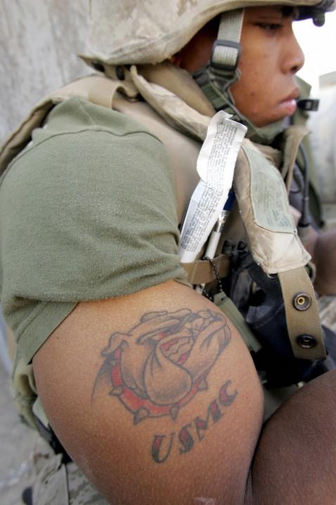 Marines Tattoo