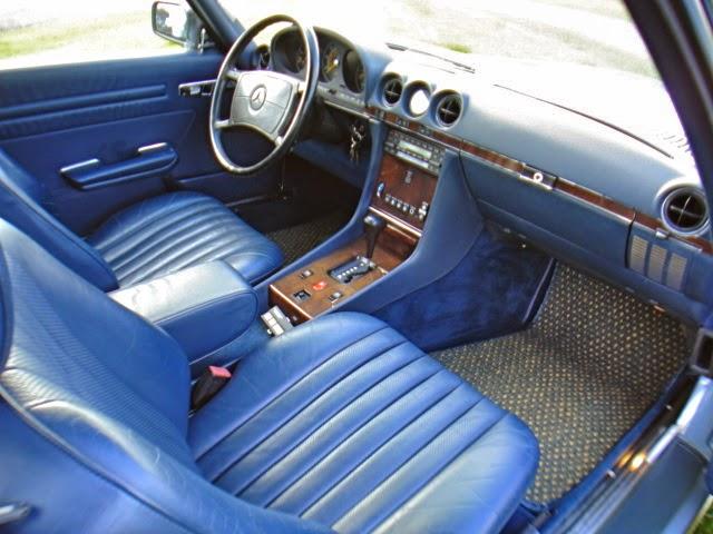 Theclassiccarfactory Com 1987 Mercedes Benz 560sl R107