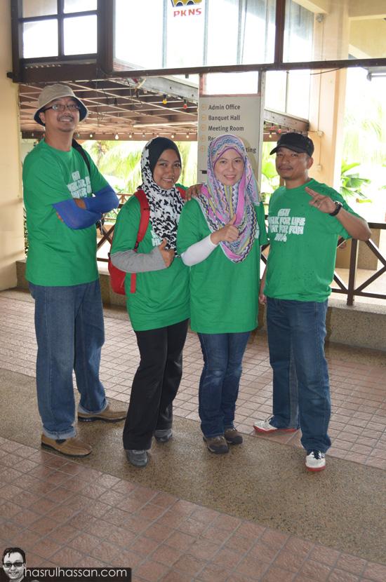 Program AGM Alumni SEMESTI Walk Hunt 2014