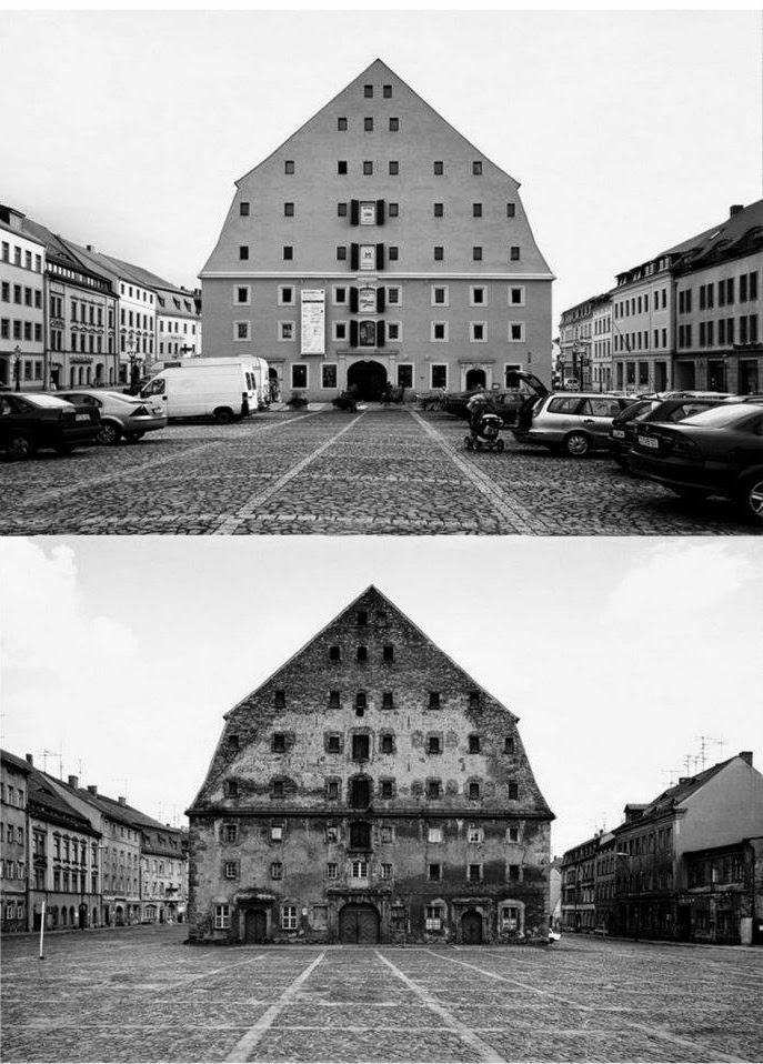 Alemanha Oriental - antes e depois