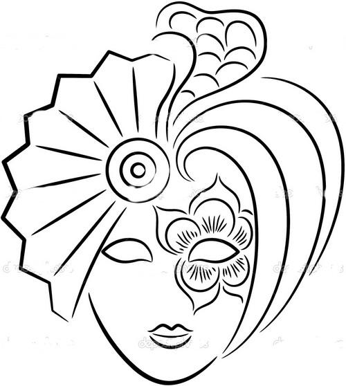 Girotondo di bimbi disegni di carnevale da colorare for Disegni da colorare e stampare carnevale