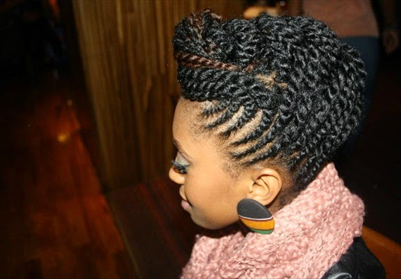 Natural Black Hairstyles 2015