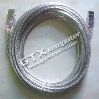 Kabel Perpanjang USB 5 Meter Transparan